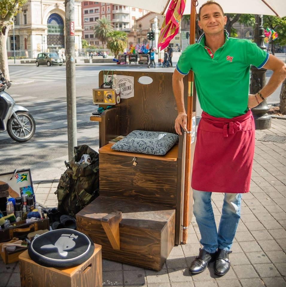 Gli sciuscià di Palermo