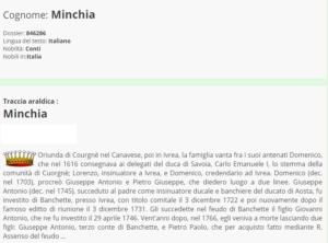 minchia 1