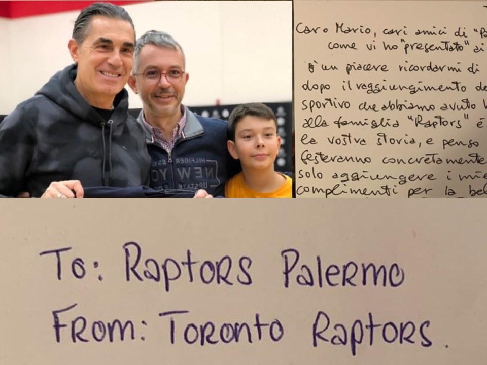 Da Toronto a Palermo, un canestro di passione Raptors