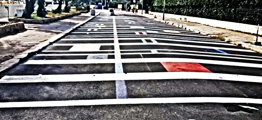 Mondello, la guerra dell'asfalto