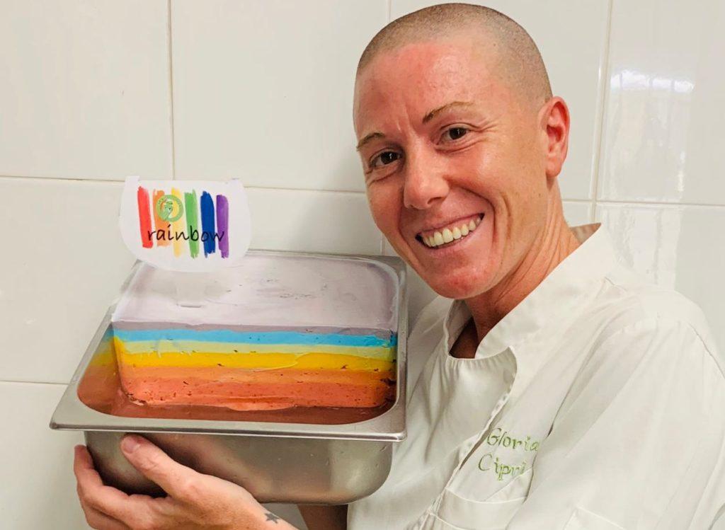 Un gelato arcobaleno in nome della libertà sessuale