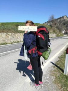 A Lampedusa senza soldi e in autostop