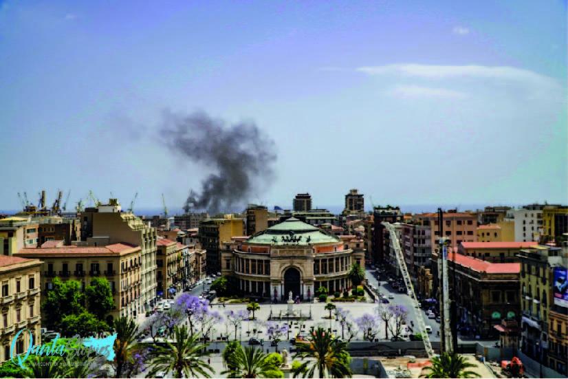 Fumo del porto. E poi a Palermo fanno le ztl…