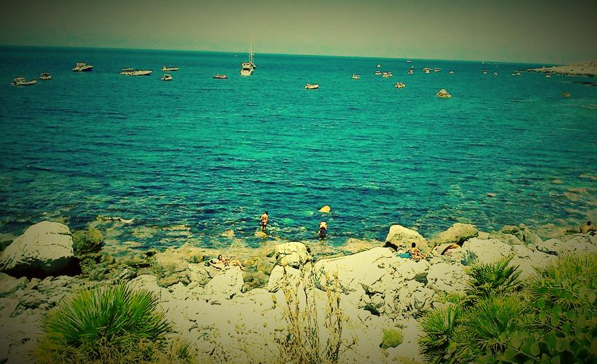 Un giorno di mare all'avamposto di Barcarello