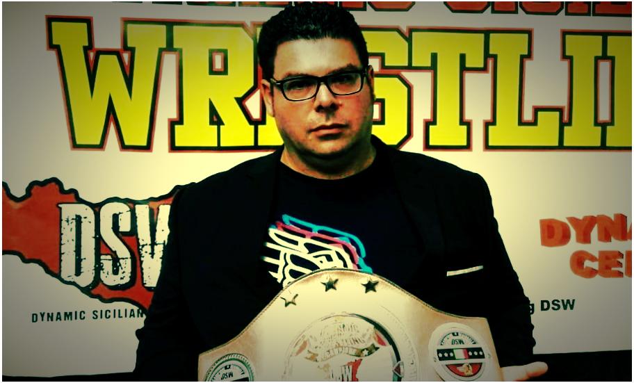 Mimmo Lo Tartaro porta il wrestling in Sicilia