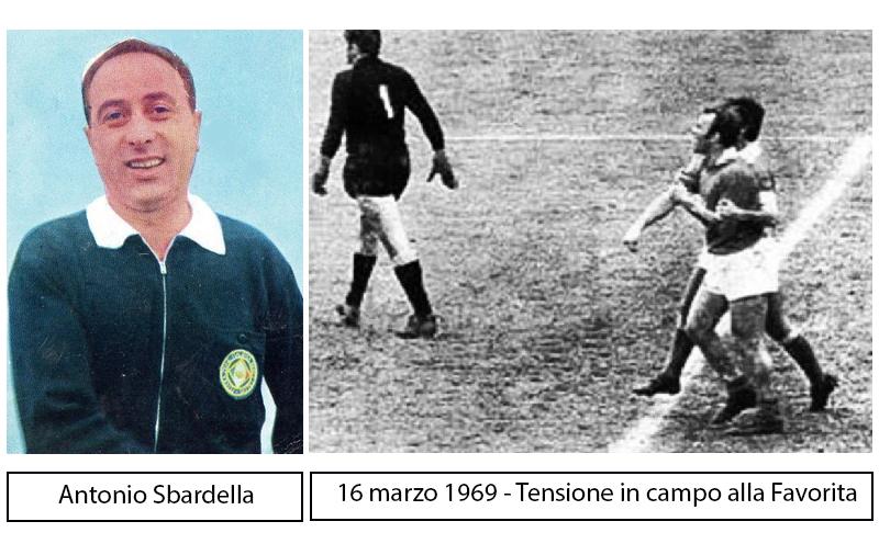 Il Palermo, Altafini e l'elicottero che salvò Sbardella
