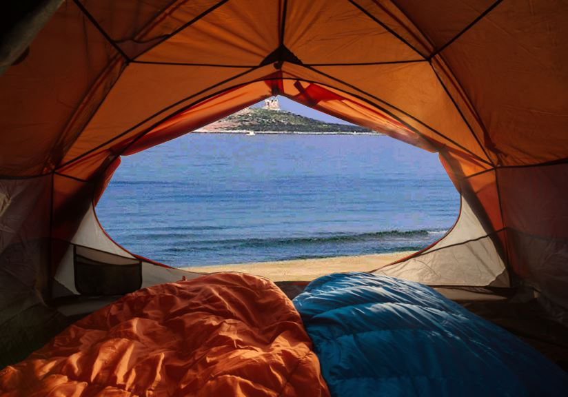 L'ombrellone in spiaggia? Macché, è una casa…