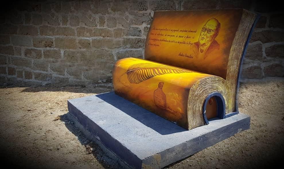 Camilleri rivive nei Percorsi delle Panchine di Terrasini