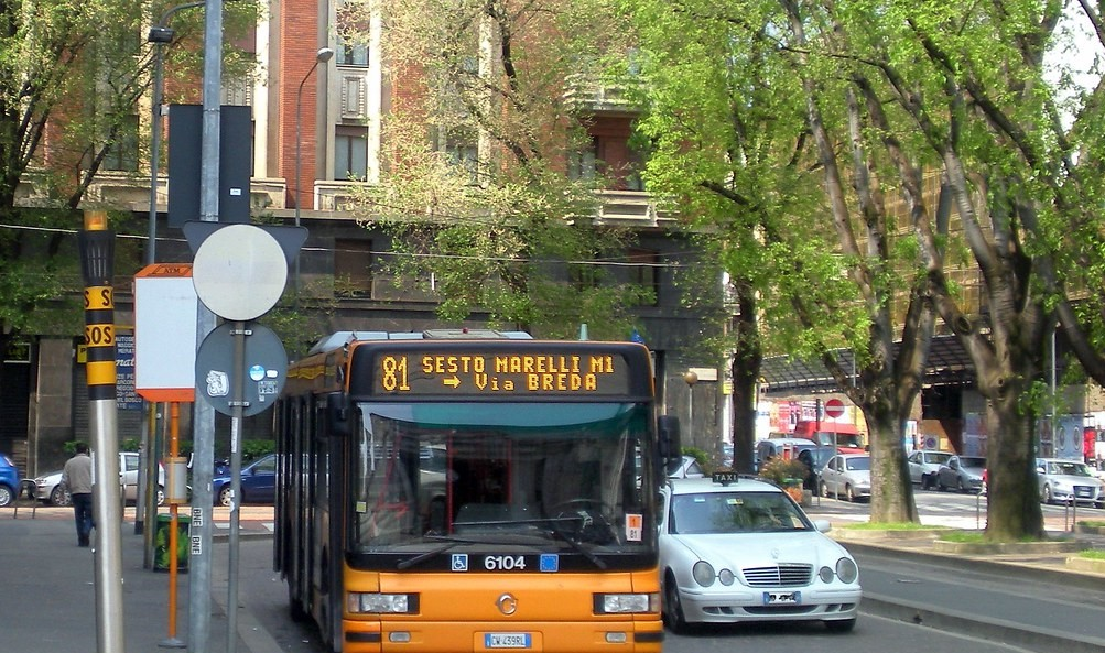 La donna più deliziosa del mondo guida un bus