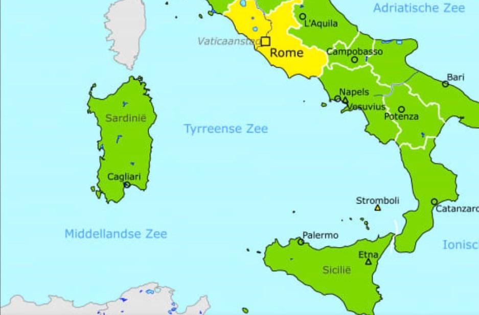 Corona virus, per l'Olanda la Sicilia non è a rischio contagio