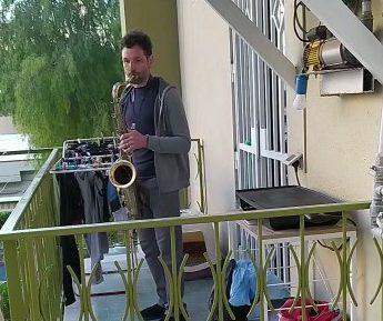 In balcone c'è un sax anti virus…