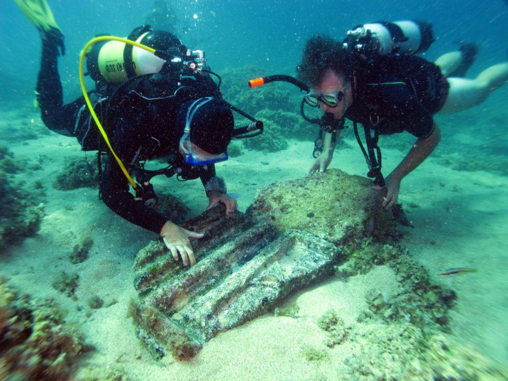 Il mare di Sicilia restituisce una basilica bizantina sommersa da 1500 anni